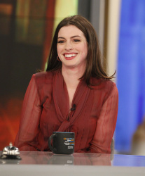 Anne Hathaway - The View: April 20th 2017