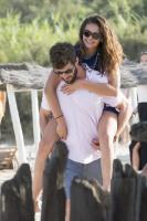 Nina Dobrev with her boyfriend Austin Stowell in Saint-Tropez (July 24) BPGi8D9c