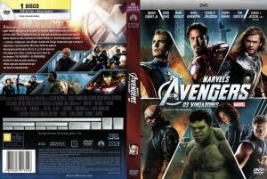 Capa DVD Os Vingadores