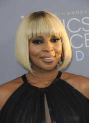 Mary J. Blige - 21st Annual Critics' Choice Awards @ Barker Hangar in Santa Monica - 01/17/15