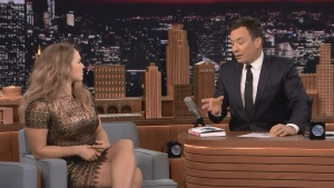 Ronda Rousey The Tonight Show Starring Jimmy Fallon 03/25/15