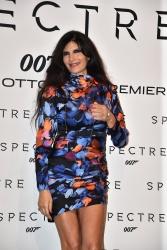 Pamela Prati - Spectre Rome Premiere @ Auditorium Della Conciliazione in Rome - 10/27/15