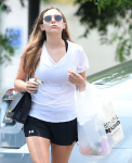 Elizabeth Olsen - out and about in LA 7/13/17