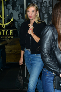 Maria Sharapova - At Catch Restaurant in West Hollywood - March 3rd 2017