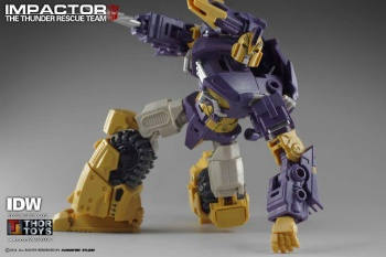 [Mastermind Creations] Produit Tiers - Reformatted R-13 Spartan (aka Impactor) des Wreckers + R-14 Commotus (aka Turmoil) - IDW Uvi03RUT