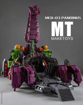 [Maketoys] Produit Tiers - Jouet MCB-03 Pandinus - aka Scorponok et MCB-03D Devil Stinger - aka Black Zarak T1zWhcDn