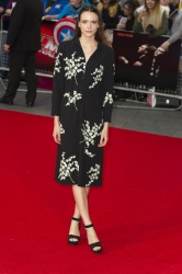 Stacy Martin - 2015 BFI London Film Festival: High-Rise Screening @ Odeon Leicester Square in London - 10/09/15