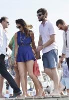 Nina Dobrev with her boyfriend Austin Stowell in Saint-Tropez (July 24) 3uTHeXHR