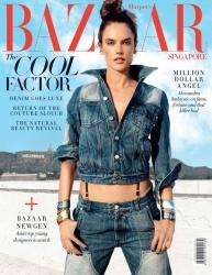 Alessandra Ambrosio - Harper's Bazaar Singapore (January 2017)