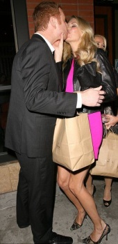 Brandi Glanville kisses a mystery man in Beverly Hills