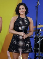 Demi Lovato - 'Good Morning America' at SummerStage at Rumsey Playfield in New York 6/24/16