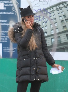 Paris Hilton - In Manhattan's Soho Neighborhood - February 14th 2017