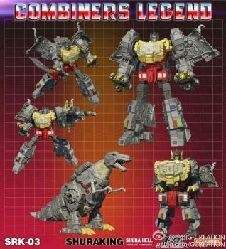 [GCreation] Produit Tiers - Jouet ShuraKing - aka Combiner Dinobots - Page 2 04j7wV8d