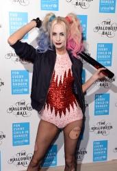 Poppy Delevingne - 2015 UNICEF Halloween Ball @ One Mayfair in London - 10/29/15