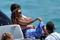 Nina Dobrev with her boyfriend Austin Stowell in Saint-Tropez (July 24) AtpOO7Ms