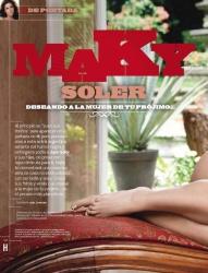 Maky Soler Revista H para Hombres Octubre 2010