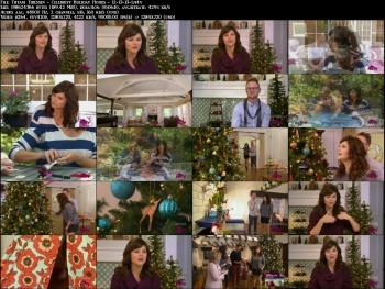 Tiffani Thiessen - Celebrity Holiday Homes - 12-13-13