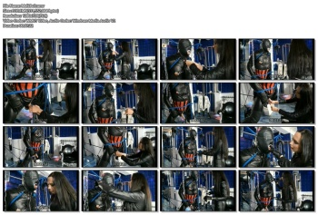 Fetish Diva Nadja - Brutal Humiliation Of The Leather Puppet To Become My Personal Slavepig (part 3/4)