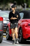 Bai Ling wears her hair in a 'bee hive' as she buys a new VW Beetle in LA June 4-2015 x31