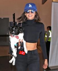 Nina Dobrev - At LAX Airport 7/19/17