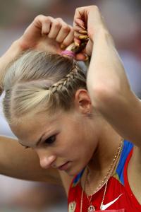 Дарья Клишина, фото 37. Darya Klishina 13th IAAF World Athletics Championship, Daegu, South Korea - 28.08.2011, foto 37