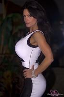 Дениз Милани, фото 4584. Denise Milani Elegant Dress : (08/02/12), foto 4584