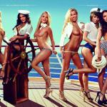 Gatas QB - Love Boat Playboy Alemanha Janeiro 2016