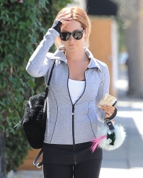 Ashley Tisdale - Leaving the gym in LA 8/3/15