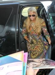 Paris Hilton - arrival at LAX. 08 October 2014