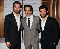 Colin Farrell and Chris Pine – 12th Annual Chrysalis Butterfly Ball June