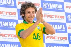 Valentino Rossi visits Brazil