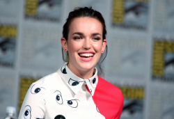 Elizabeth Henstridge - Marvel's Agent of S.H.I.E.L.D. Panel @ 2015 San Diego Comic-Con - 07/10/15