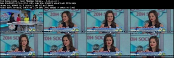 Sasha Cohen - Good Morning America - 2-10-14