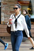 Katie Holmes - Heads to Sundance Sunset Theaters in West Hollywood 12/11/16