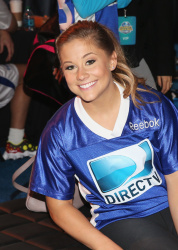 Shawn Johnson - DIRECTV'S 7th Annual Celebrity Beach Bowl in New Orleans 2/2/13