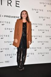 Camila Raznovich - Spectre Rome Premiere @ Auditorium Della Conciliazione in Rome - 10/27/15