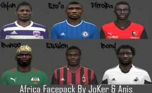 Download PES 2014 Facepack Africa v2