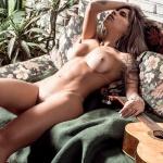 Gatas QB - Vanessa Mesquita Playboy Brasil Julho 2014