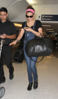 Nina Dobrev at LAX Airport (March 27) 505WjsUz