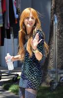 Bella Thorne - filming a music video in Studio City - 06/28/12