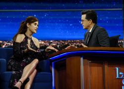 Kate Walsh - The Late Show with Stephen Colbert: March 28th 2017