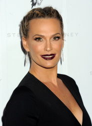 Molly Sims - Stella McCartney Autumn 2016 Presentation @ Amoeba Music in Los Angeles - 01/12/16