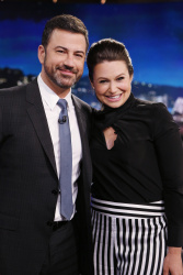 Katie Lowes - Jimmy Kimmel Live: May 11th 2017
