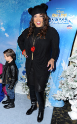 Kym Whitley - Disney's Frozen on Ice Premiere @ Staples Center in Los Angeles - 12/10/15