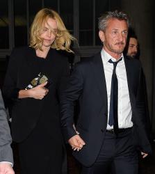 Sean Penn - Charlize Theron and Sean Penn - seen leaving Royal Festival Hall. London - February 16, 2015 (153xHQ) R6xkOnZ3