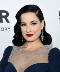 Dita von Teese - amfAR's Inspiration Gala Los Angeles 2016 @ Milk Studios in Los Angeles - 10/27/16