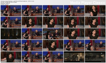 Sarah Silverman - Late Show with David Letterman - 5-20-14
