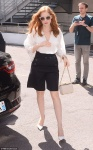 Jessica Chastain - out and about in Cannes 5/20/17
