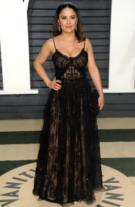 Salma Hayek - 2017 Vanity Fair Oscar Party Hosted By Graydon Carter - February 26th 2017