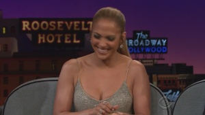 Jennifer Lopez The Late Late Show with James Corden 05/05/17